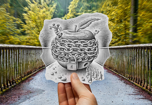 Pencil Vs Camera   Amazing art by Belgian artist Ben Heine